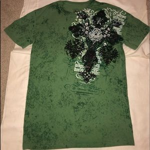 Archaic By affliction double sided T-shirt!